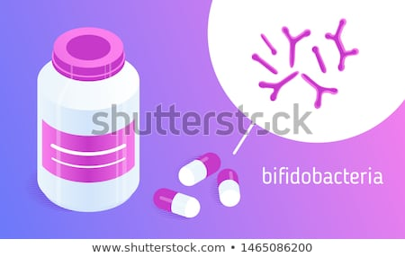 Bacteriology Icon. Flat Design. Stock photo © WaD