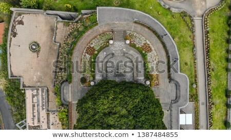 入り口 ポート 村 ポルトガル 建物 旅行 ストックフォト © compuinfoto