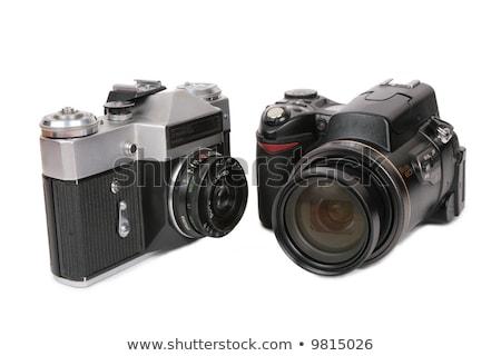 nowoczesne · kamery · film · metal · retro · sklepu - zdjęcia stock © Paha_L