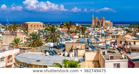 Old town of Famagusta (Gazimagusa), panoramic view. Cyprus Stock photo © Kirill_M