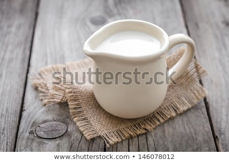 кувшин · свежее · молоко · белый · пить · холодно - Сток-фото © Digifoodstock