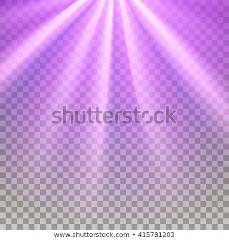 Mor parlama rays mor etki Stok fotoğraf © pakete