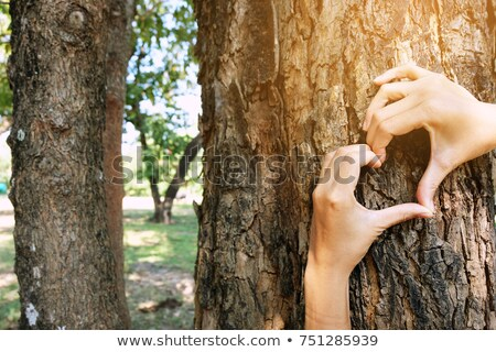Person's green thumb Stock photo © bluering