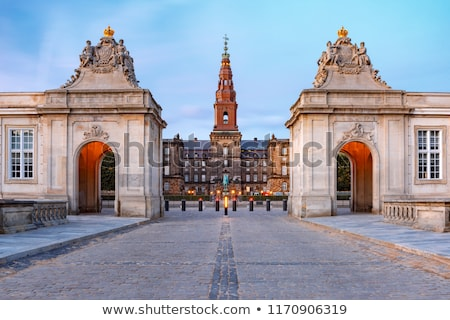 дворец Копенгаген Дания здании синий путешествия Сток-фото © vladacanon