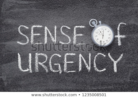 Stock photo: Urgency