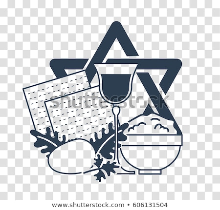 silhouette icon holiday Pesach Stock photo © Olena