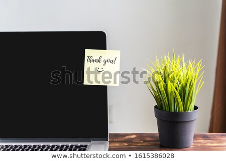 Thank You on Laptop Screen. Stock photo © tashatuvango