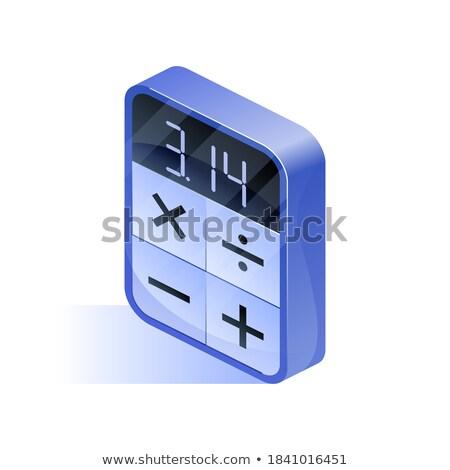 revenue   blue keypad stock photo © tashatuvango