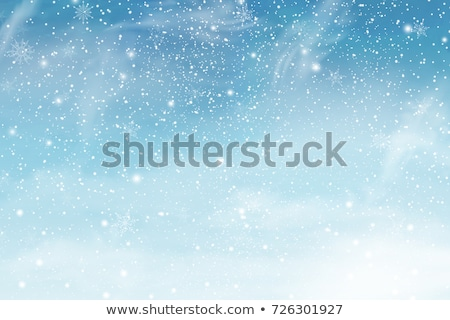 christmas designs with falling snow stock photo © sonya_illustrations