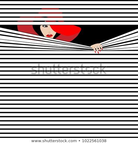 Beautiful Female Spy Stock photo © keeweeboy