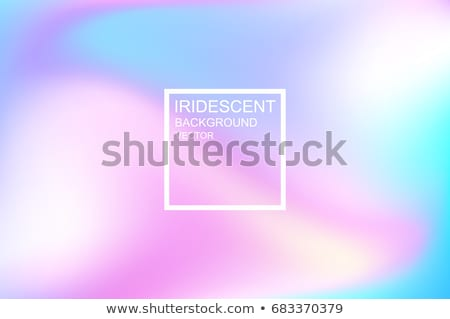 Holography Background Vector. Abstract Holographic. Iridescent Foil. Creative Design Illustration Stock photo © pikepicture