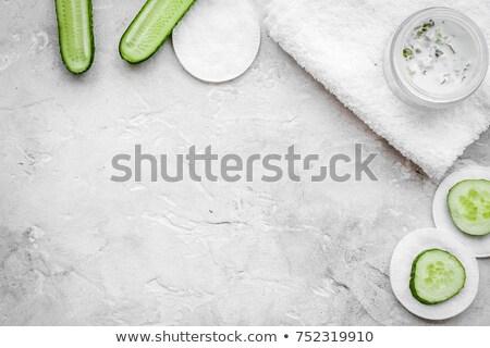 Uborka szépség smink Stock fotó © IS2