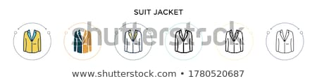 Stock photo: Black jacket pants business woman 2