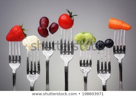 Alimentación saludable maduro tomate frescos rojo abundancia Foto stock © TasiPas