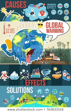 Global Warming Conceptual Illustration Stockfoto © Artisticco