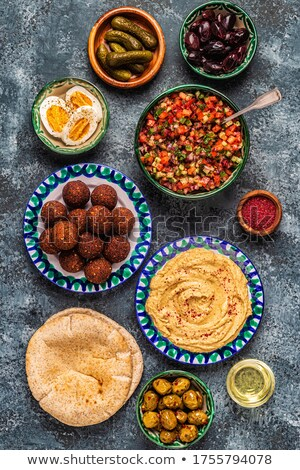 Mediterranean dishes. Stock photo © Fisher