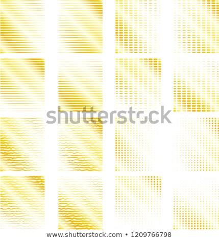 arany · mérleg · vonal · szett · illusztráció · textúra - stock fotó © Blue_daemon