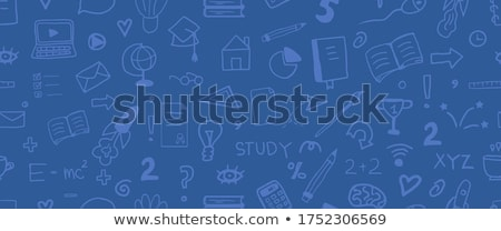 Vector concept creative business illustration with studing people, education.  foto stock © Giraffarte