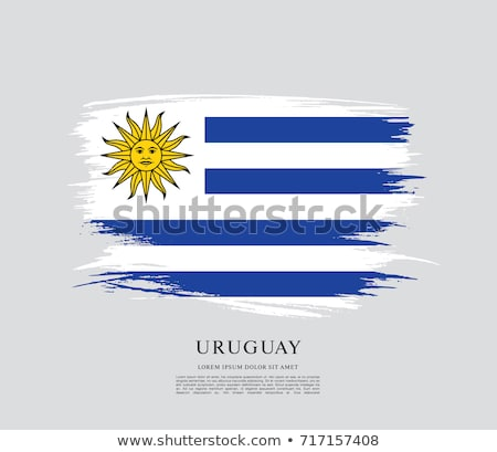 Oriental Republic of Uruguay flag  Сток-фото © grafvision