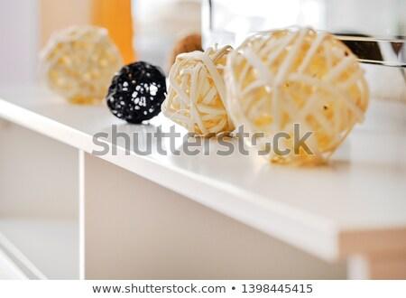 Dekoracyjny żółty czarny inny Zdjęcia stock © amok