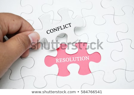 Conflict resolution Stock photo © olivier_le_moal