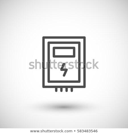 Circuit Breakers Box Icon Stock photo © angelp