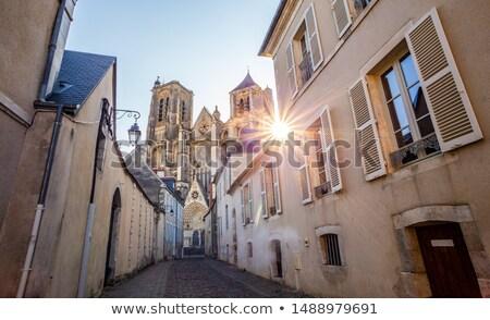 Oude binnenstad centrum kathedraal stad gothic stad Stockfoto © tilo