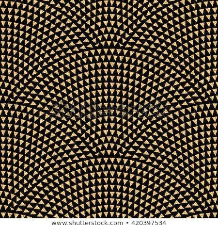 Blanco negro ondulado estilo dorado negocios Foto stock © SArts