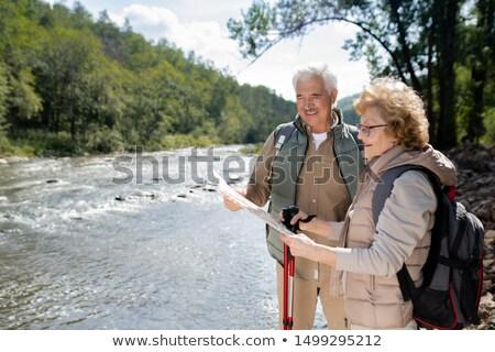 походов · счастливым · Поход · семьи · человека - Сток-фото © pressmaster