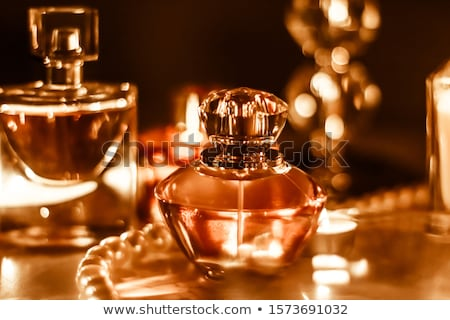 Perfume bottle and vintage fragrance on glamour vanity table at  Stock photo © Anneleven