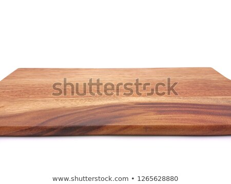 Chopping Board with chopper Stock photo © robStock