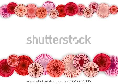 colorido · papel · usado · verão · laranja · padrão - foto stock © zela
