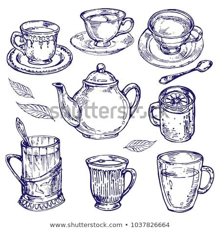 レモン 茶碗 アイコン ベクトル 実例 ストックフォト © pikepicture