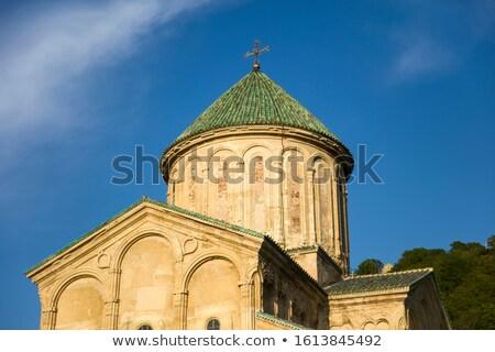 Medieval monasterio Georgia vista pared iglesia Foto stock © boggy