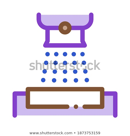 Factory Dumping Metallurgical Icon Vector Illustration Stock photo © pikepicture