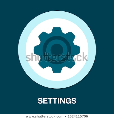 Gear set illustration Stock photo © Zela