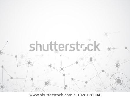 Abstract basso connessione linee tecnologia digitale internet Foto d'archivio © SArts