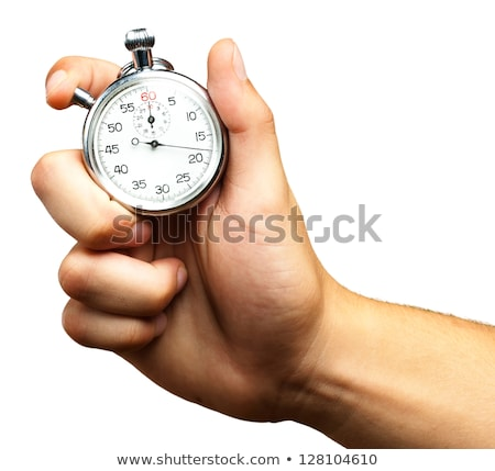 Stop Watch in Hand Stock photo © THP