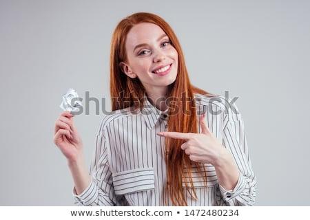 Foto stock: Condón · mano · dedo · blanco · educación · diversión
