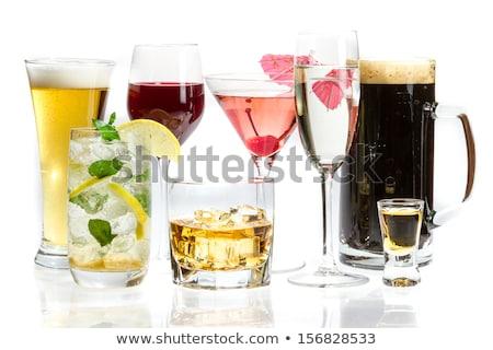 different alcoholic drinks  stock photo © pressmaster