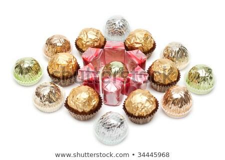 輝かしい · 紙 · チョコレート · 緑 - ストックフォト © RuslanOmega