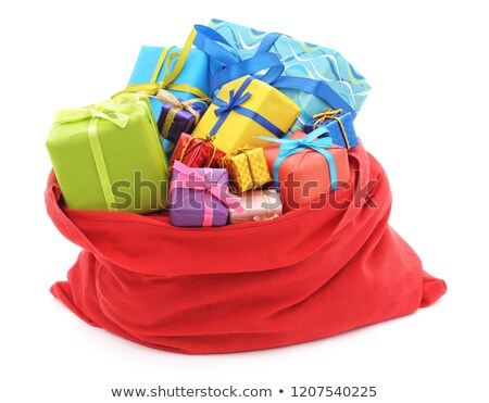 santas sack with gifts stock photo © winner