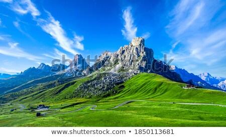 Irányok trekking olasz természet hegy nyár Stock fotó © Antonio-S