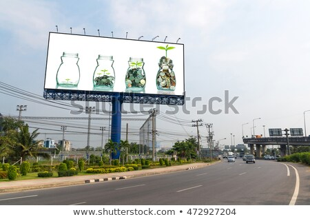 Bill Board in City Stock photo © vectomart