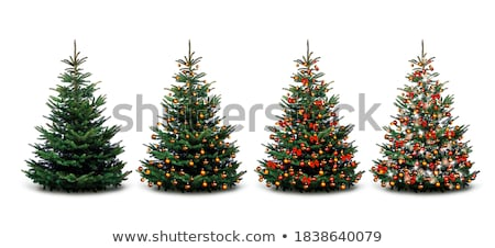 christmas tree in red 4 stock photo © marinini