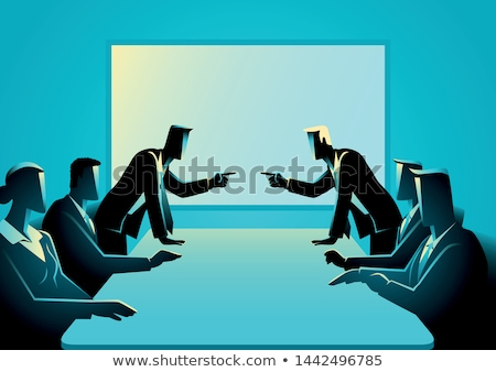 Businessman argument Stock photo © RTimages