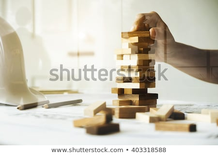Building skills concept Stock photo © digitalstorm
