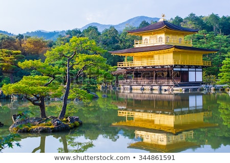 golden buddhist temple Stock photo © smithore