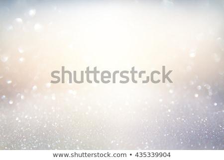 Diamentów biały szkła tle kamień diament Zdjęcia stock © jezper
