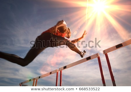 Hurdles Stock photo © Sportlibrary